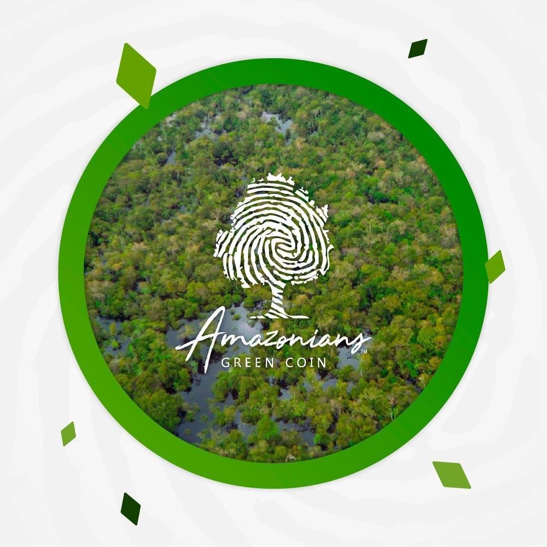 Amazonians Green Coin